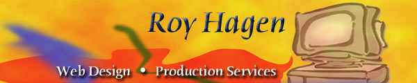 Roy Hagen Web Design and Production Services Logo